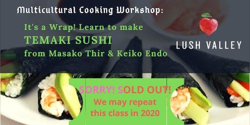 Temaki Sushi Workshop