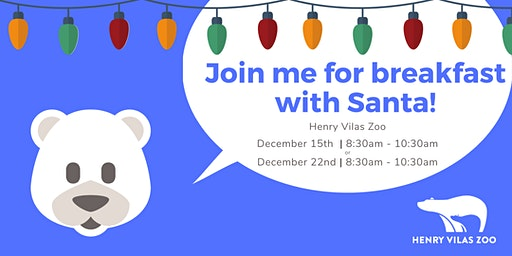 Breakfast with Santa Dec. 15