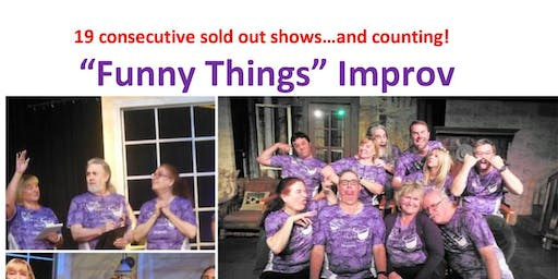 Funny Things Improv Comedy Show & Food Drive