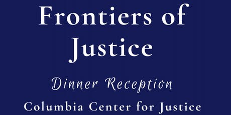 Frontiers of Justice Dinner Reception tickets