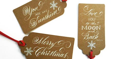 GuestJam: Inscribing Ornaments and Gift Tags with Laura Di Piazza tickets