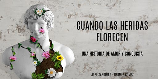 Coctel,  Presentación y Bautizo   del Libro: CUANDO LAS HERIDAS FLORECEN