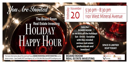 Board Room Real Estate - Kick-off Holiday Party