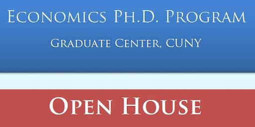 Graduate Center Economics PhD Open House