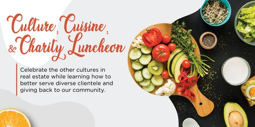 Culture, Cuisine & Charity