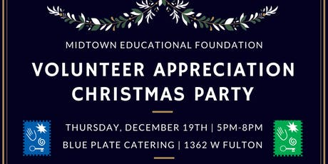 2019 Volunteer Christmas Party tickets