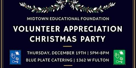 2019 Volunteer Christmas Party tickets