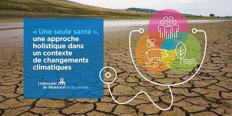 """Midi- causerie : """"Une seule santé"""" billets"""
