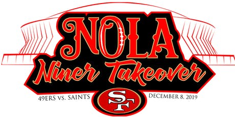 NOLA Niner Takeover WATCH PARTY @ Dave & Buster's! tickets