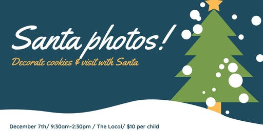 Photos with Santa @ The Local