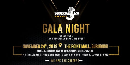 Verse5ve Awards Gala Night | 2019.