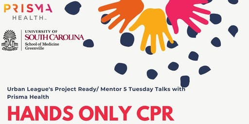PR/ M5 Tuesday Talks with Prisma Health- Free Hands ONLY CPR Training