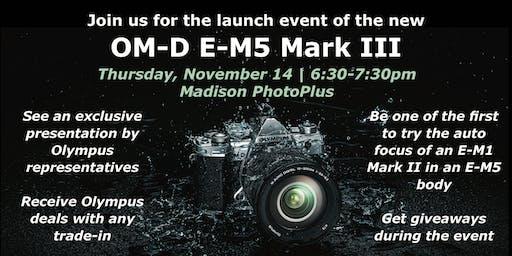 E-M5 Mark III Launch Event