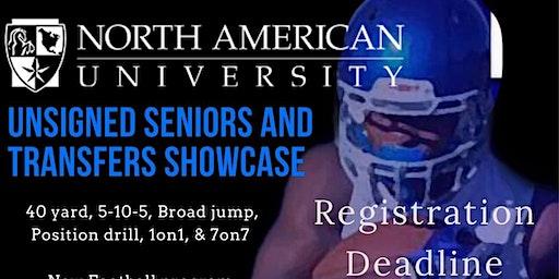 North American University Football  Showcase Camp 12/14 ($65 at showcase location)
