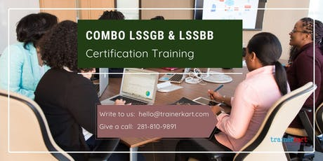 Combo Lean Six Sigma Green Belt & Black Belt 4 Days Classroom Training in Modesto, CA tickets