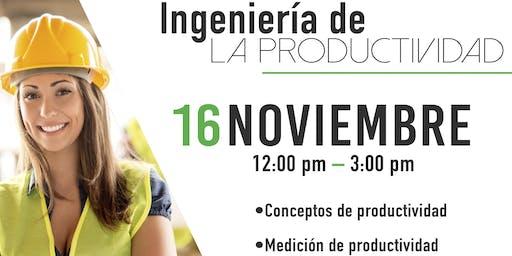INGENIERÍA DE LA PRODUCTIVIDAD