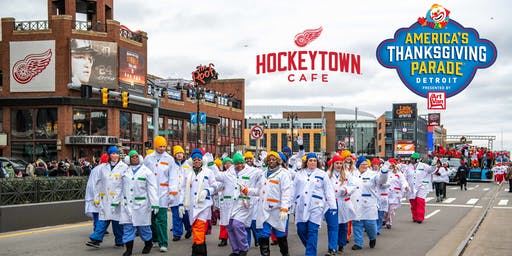 America's Thanksgiving Parade Viewing at Hockeytown