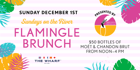 Flamingle Brunch - Sundays on the River tickets