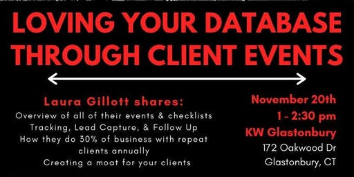 Loving Your Database Through Client Events