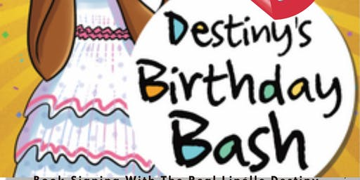 2020 Linelle Destiny's Birthday Bash & Book Signing