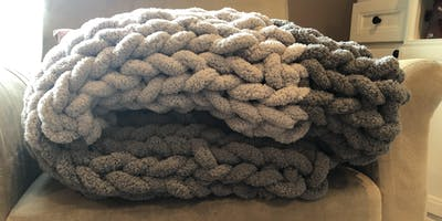 There is Love in Every Stitch - Chunky Blanket Workshop Fundraiser