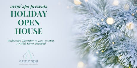 Holiday Open House at Artné Spa tickets