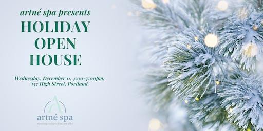 Holiday Open House at Artné Spa