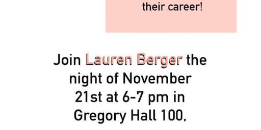 Intern Queen Lauren Berger Guest Speaker
