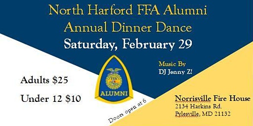 North Harford FFA Alumni Annual Dinner Dance