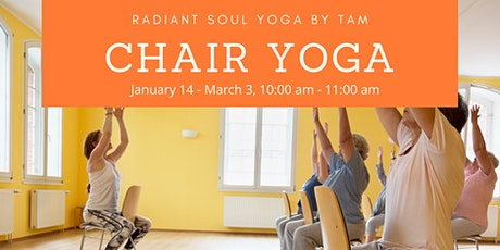 Chair Yoga: A Yoga Course for Any Age  tickets