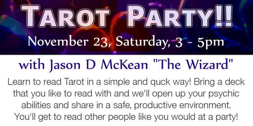 Holiday Tarot Workshop
