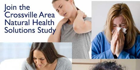 Crossville Area Natural Health Solutions Study (5 PM Meeting) tickets