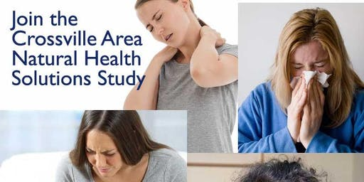 Crossville Area Natural Health Solutions Study (5 PM Meeting)