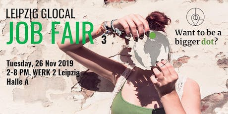 Leipzig Glocal Job Fair 3 tickets