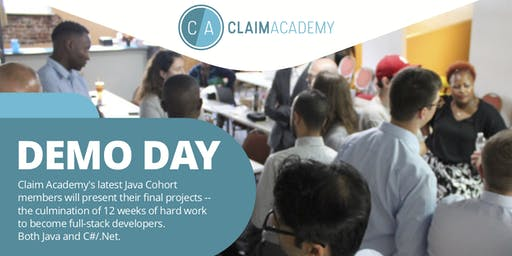 Claim Academy Demo Day and Hiring Event