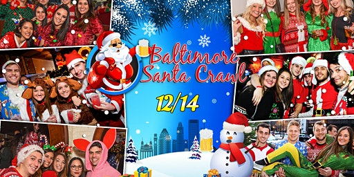 Baltimore Santa Crawl 2019 (10+ Bars)