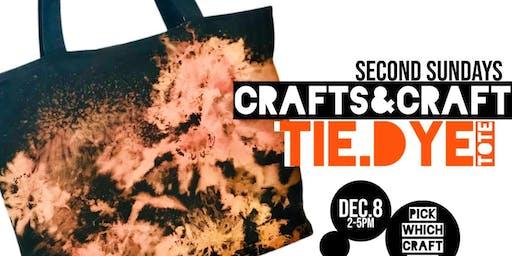 DIY Reverse Tie Dye Tote - Second Sundays Crafs