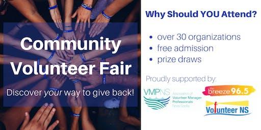 Community Volunteer Fair