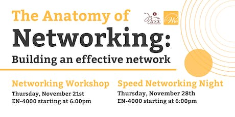 The Anatomy of Networking: Building an Effective Network tickets