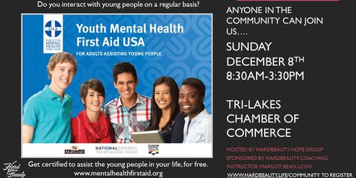Youth Mental Health First-Aid Certification