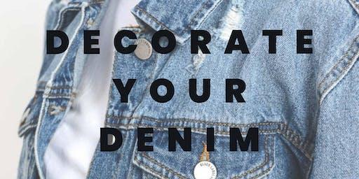 Decorate Your Denim!