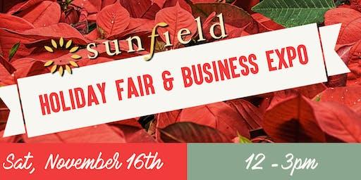 Sunfield Holiday Fair & Business Expo