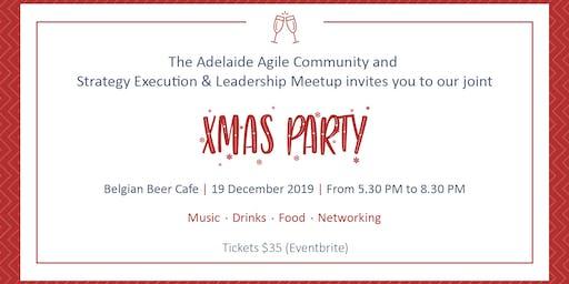 Xmas Party - Agile Community & Strategy, Execution & Leadership Meetup