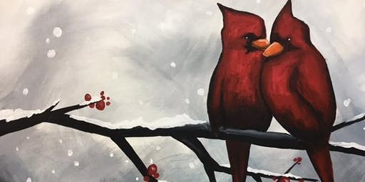BYOB - Pick a Painting-Red Barns*Red Birds - Paint 'N Sip