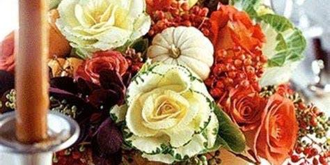 Happy Harvest Thanksgiving Centerpiece Class