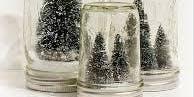 Scintillating Snow Globes