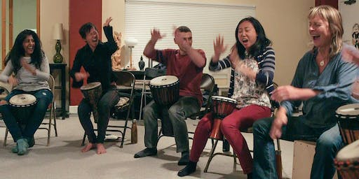 Berkeley Free Your Voice while Drumming 10-week class