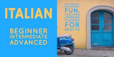 Italian Two (Intermediate) @Lee County Public Education Center 1/21-2/25