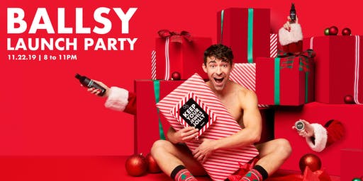 Ballsy Launch Party (POSTPONED)