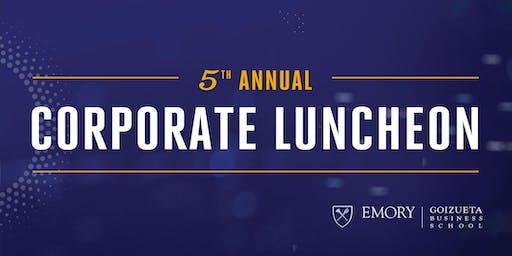 2019 Corporate Luncheon
